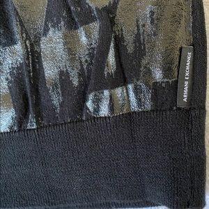 Armani Exchange Shirts - ARMANI EXCHANGE Mens Long Sleeve T-Shirt